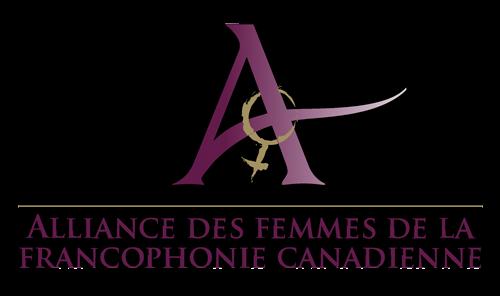 Logo L'Alliance des femmes de la francophonie canadienne